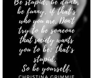quote, christina grimmie, and team grimmie image