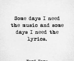 music, Lyrics, and quotes image