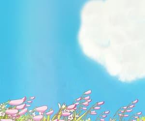 anime, sky, and wallpaper image