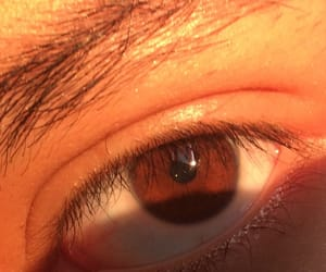 boy, brown, and eyes image