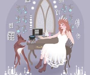 fantasy, girl, and gif image
