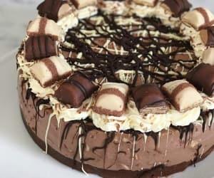 cake, chocolate, and kinder image