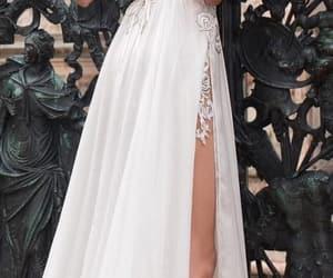 bridal, wedding, and wedding dress image
