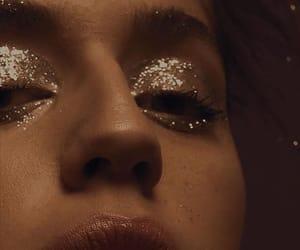 aesthetic, glitter, and girl image