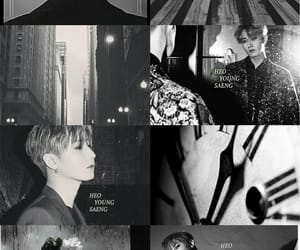 aesthetic, black, and saeng image