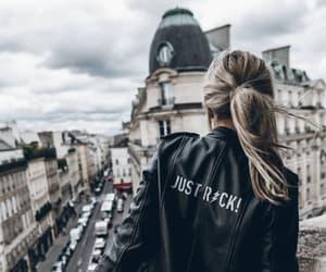 fashion, style, and leather jacket image