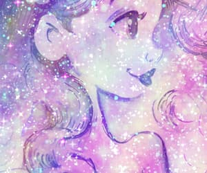 ariel, colorful, and sparkles image