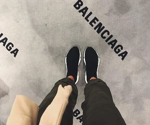 Balenciaga, girl, and luxury image