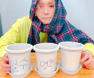 pentagon, edawn, and kim hyojong image