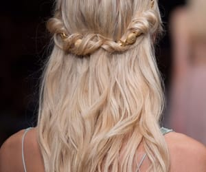 beautiful, hairstyle, and blond image