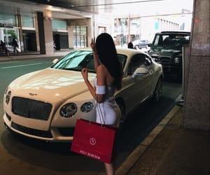 girl, Bentley, and luxury image