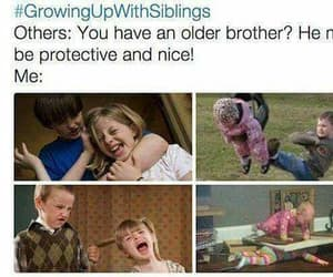 protective and siblings image