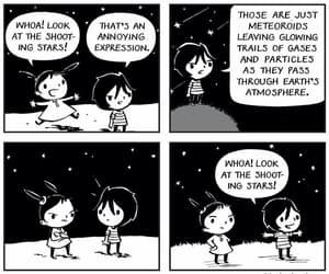 shooting stars, sky, and stars image