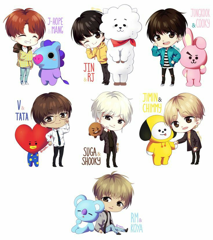 Bts Drawings Shared By 𝒞𝓇𝒶𝓏𝓎 𝒻𝑜𝓇 𝓂𝓎𝑒𝓁𝒻 On We Heart It