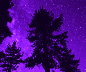 gif, stars, and purple image
