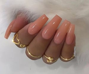 nails, fashion, and fur image