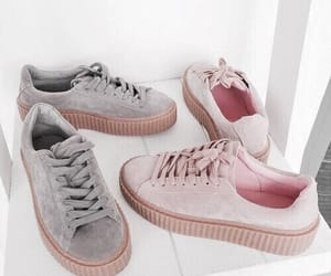 shoes, pink, and puma image