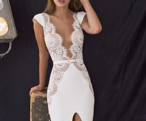 dress, style, and white image