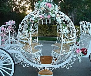 carriage, pretty, and fairytale image