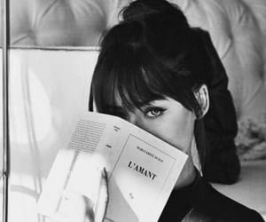 book, beauty, and black image