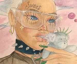 cyber, rico nasty, and punk image
