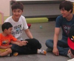 exo, kai, and kaisoo image