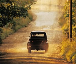 dirt road, old truck, and truck image