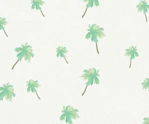 palm trees, background, and flowers image