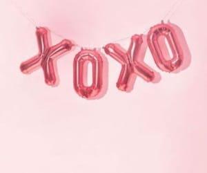 pink and xoxo image