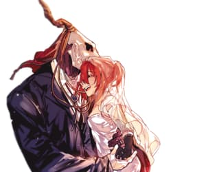 anime girl, redhead, and wedding dress image
