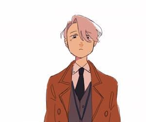 gif, victor, and anime cute image