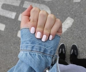 nails, tumblr, and pink image