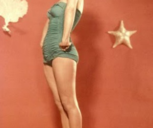 50s, girl, and vintage image