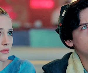 riverdale, betty cooper, and couple image