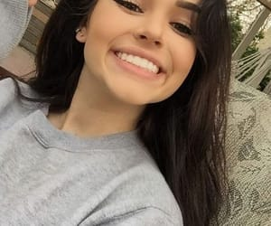 girl, smile, and maggie lindemann image