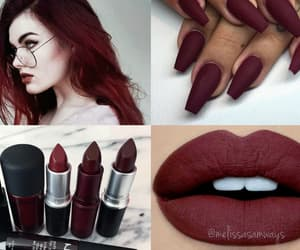 aesthetic, color, and maroon image