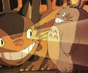 anime, movie, and my neighbour totoro image