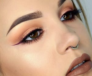 eyelashes, eyes, and eyeliner image