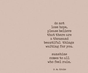 quotes, sunshine, and hope image