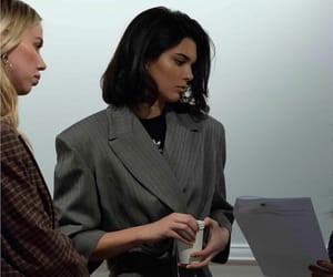 casual, coat, and Kendall image