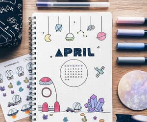 april, art, and drawing image