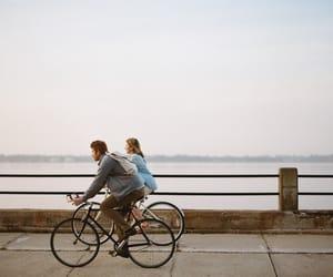 bike and couple image