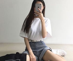 fashion, casual, and kfashion image