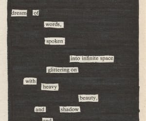 words, poetry, and poem image