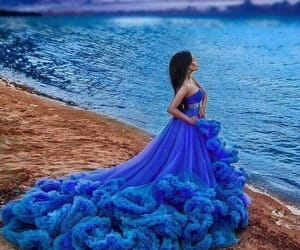 blue and dress image