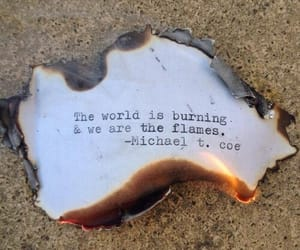 quotes, fire, and flame image