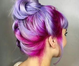 hair, pink, and inspiration image
