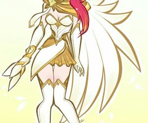 golden, videogame, and star guardian image