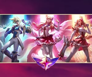 wallpaper, ahri, and miss fortune image