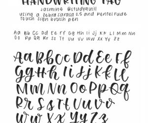 lettering and studyblr image